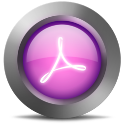 256x256px size png icon of 01 Acrobat