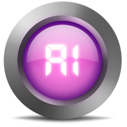 256x256px size png icon of 01 Ai