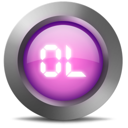 256x256px size png icon of 01 Ol