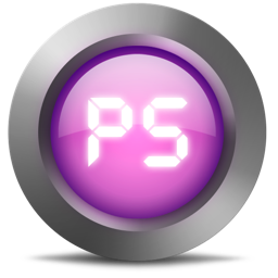 256x256px size png icon of 01 Ps