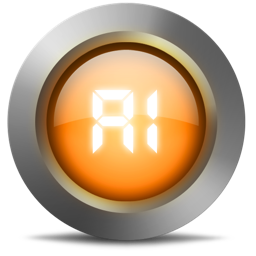 256x256px size png icon of 02 Ai