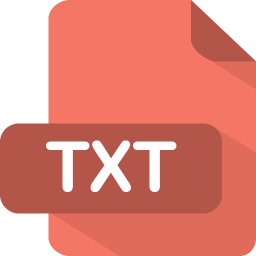 256x256px size png icon of txt