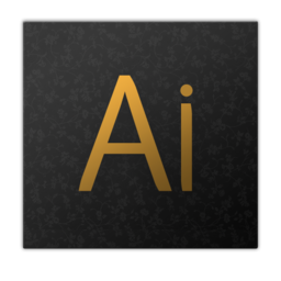 256x256px size png icon of adobe ai
