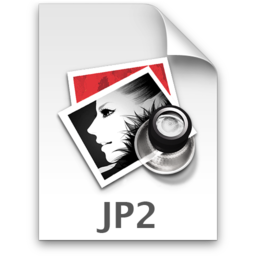 256x256px size png icon of JP2