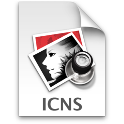 256x256px size png icon of icns