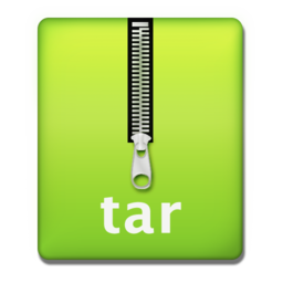 256x256px size png icon of tar