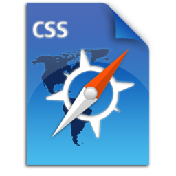 256x256px size png icon of css