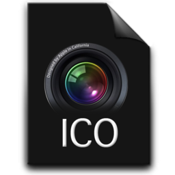256x256px size png icon of ico