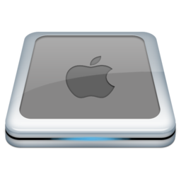 256x256px size png icon of Drive Apple 2