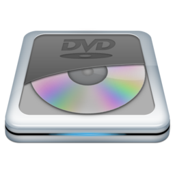 256x256px size png icon of Drive DVD