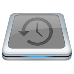 256x256px size png icon of Drive Time Machine