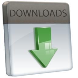 256x256px size png icon of File Downloads
