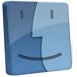 256x256px size png icon of File Finder