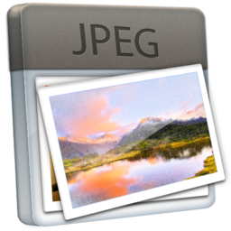 256x256px size png icon of File JPEG