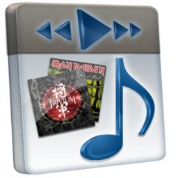 256x256px size png icon of File Music 2