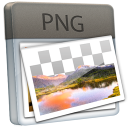 256x256px size png icon of File PNG