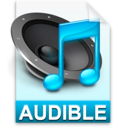 256x256px size png icon of iTunes audible