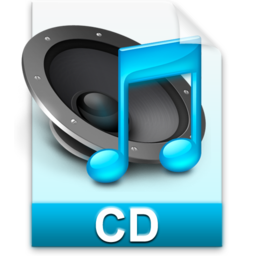 256x256px size png icon of iTunes cd