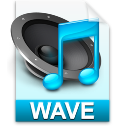 256x256px size png icon of iTunes wav
