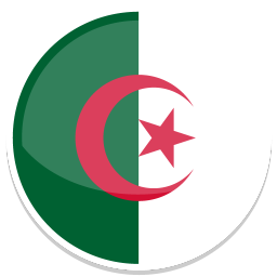 256x256px size png icon of Algeria