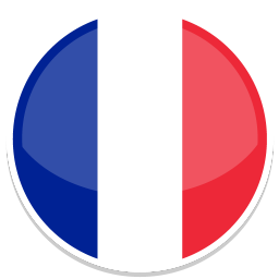 256x256px size png icon of France