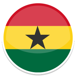 256x256px size png icon of Ghana