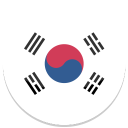 256x256px size png icon of South Korea