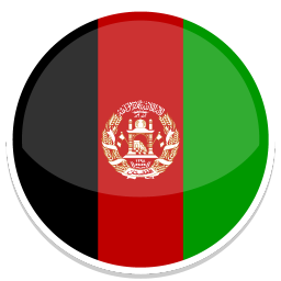256x256px size png icon of Afghanistan