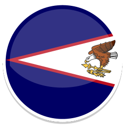256x256px size png icon of American Samoa