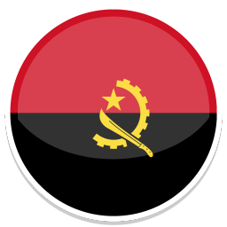 256x256px size png icon of Angola