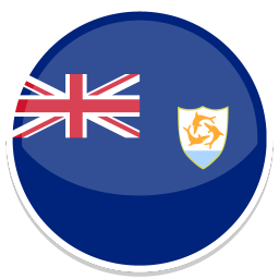 256x256px size png icon of Anguilla