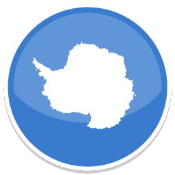 256x256px size png icon of Antarctica