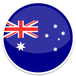 256x256px size png icon of Australia