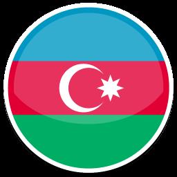 256x256px size png icon of Azerbaijan