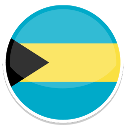 256x256px size png icon of Bahamas