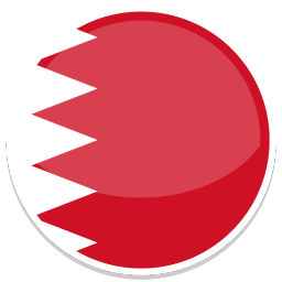 256x256px size png icon of Bahrain