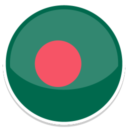 256x256px size png icon of Bangladesh