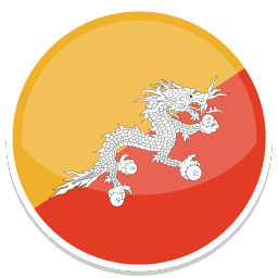256x256px size png icon of Bhutan