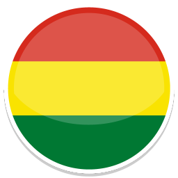 256x256px size png icon of Bolivia