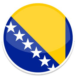 256x256px size png icon of Bosnia and Herzegovina