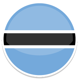 256x256px size png icon of Botswana