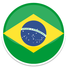 256x256px size png icon of Brazil