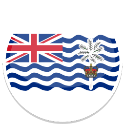 256x256px size png icon of British Indian Ocean Territory