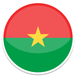 256x256px size png icon of Burkina faso