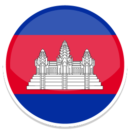 256x256px size png icon of Cambodia