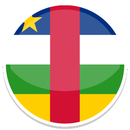 256x256px size png icon of Central african republic