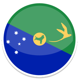 256x256px size png icon of Christmas Island