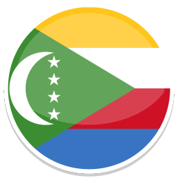 256x256px size png icon of Comoros