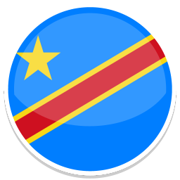 256x256px size png icon of Congo kinshasa