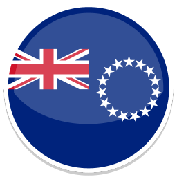 256x256px size png icon of Cook islands